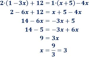 Explicamos cómo resolver ecuaciones con fracciones: tenemos que multiplicar toda la ecuación por el mínimo común múltiplo de los denominadores. También, recordamos algunas propiedades de las fracciones. Con ejemplos y ecuaciones resueltas. Secundaria. ESO. Álgebra. Matemáticas.