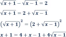 Ecuaciones Irracionales Resueltas