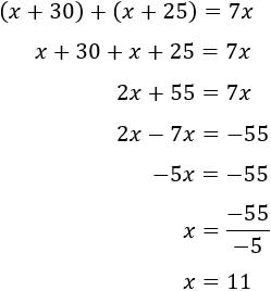 Problemas resueltos con ecuaciones de primer grado resueltas