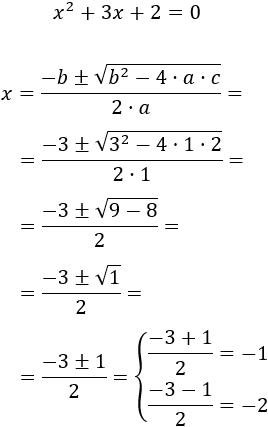 Ecuaciones De Segundo Grado Resueltas
