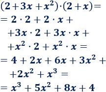 Explicamos cómo multiplicar polinomios y proporcionamos algunos ejemplos. Matemáticas. Álgebra. Secundaria.