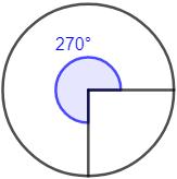 Proporcionamos tres calculadoras relacionadas para pasar de grados a radianes y viceversa. Con explicación de las operaciones que se realizan (regla de tres directa), ejemplos y representaciones. Geometría plana. Secundaria. Bachillerato. Calculadora online.