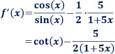 Enunciamos las reglas de derivación y de la cadena y proporcionamos algunos ejemplos de su aplicación. Derivadas. Cálculo diferencial. Matemáticas.