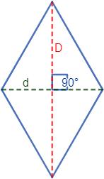 Calculadoras online para calcular el área y el perímetro de un rombo (a partir de los lados, diagonales, ángulos, altura, etc). Fórmulas y demostraciones del perímetro y del área de un rombo. Con ejemplos y problemas resueltos. Secundaria. ESO. Geometría plana. Matemáticas