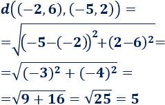 Explicamos cómo calcular la distancia entre dos puntos de la recta, del plano y del espacio reales Con ejemplos, representaciones y problemas resueltos. Matemáticas. ESO. Álgebra básica.