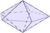 Área y volumen del sólido de Johnson J13