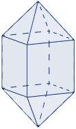 Área y volumen del sólido de Johnson J15