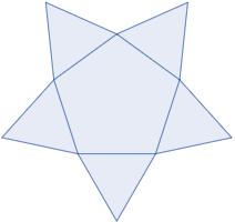 Calculadora del área y volumen de una pirámide pentagonal y del sólido de Johnson J₂. También, definimos pirámide pentagonal y pirámide J₂, calculamos la arista lateral y la altura de J₂ y demostramos las fórmulas del área y del volumen. Calculadora online. Matemáticas. Geometría.