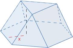 Calculadora del área y volumen del sólido de Johnson J₃ (o cúpula triangular). También, definimos el sólido J₃, calculamos su altura y demostramos las fórmulas del área y del volumen. Calculadora online. Matemáticas. Geometría.