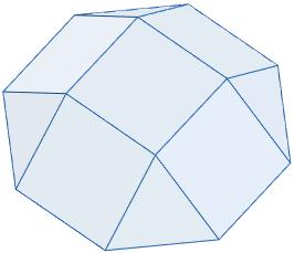 Área y volumen del sólido de Johnson J4