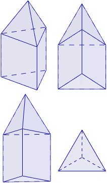 Calculadora del área y volumen del sólido de Johnson J₇ (o tetraedro elongado). También, definimos el sólido J₇, calculamos su altura y demostramos las fórmulas del área y del volumen. Calculadora online. Matemáticas. Geometría.