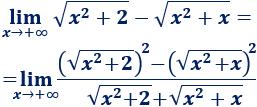 Explicamos cómo calcular límites de raíces, especialmente, restas de raíces y cocientes de raíces de distinto orden. Con ejemplos, gráficas y problemas resueltos. Cálculo diferencial. Matemáticas. Bachillerato.