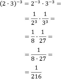 Potenciación: cálculo de potencias por definición y explicación y aplicación de las propiedades de las potencias: producto y cociente de potencias, potencia de una potencia, exponentes negativos, potencia de una fracción.... Ejercicios explicados para secundaria. ESO. Álgebra básica. Cálculo.