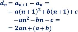 Recordamos el concepto de progresión aritmética (de primer orden); definimos progresión aritmética de segundo orden, proporcionamos la fórmula para sumar sus primeros términos y resolvemos algunos problemas. Matemáticas.