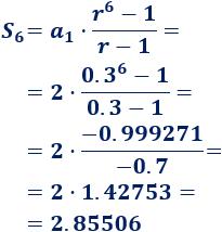Definición de progresión geométrica, razón, término general, monotonía (creciente o decreciente). Fórmulas para sumar los primeros términos y para sumar todos los términos. Con ejemplos y problemas resueltos. ESO. Secundaria. Matemáticas.